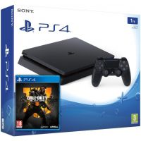 Sony Playstation 4 Slim 1Tb + Call of Duty: Black Ops 4 (русская версия)