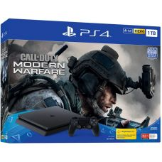 Sony Playstation 4 Slim 1Tb + Call of Duty: Modern Warfare (русская версия)
