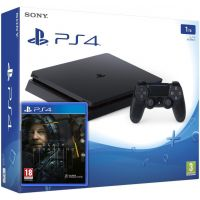 Sony Playstation 4 Slim 1Tb + Death Stranding (русская версия)