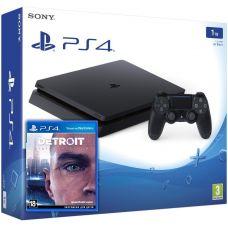 Sony Playstation 4 Slim 1Tb + Detroit: Стать человеком (русская версия)
