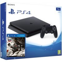 Sony Playstation 4 Slim 1Tb + Ghost of Tsushima (русская версия)