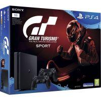 Sony Playstation 4 Slim 1Tb + Gran Turismo Sport (русская версия) + DualShock 4 (Version 2) (black)