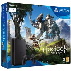 Sony Playstation 4 Slim 1Tb + Horizon Zero Dawn (русская версия)