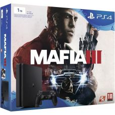 Sony Playstation 4 Slim 1Tb + Mafia III (русская версия)