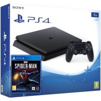 Sony Playstation 4 Slim 1Tb + Marvel's Spider-Man: Miles Morales (русская версия)