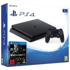 Sony Playstation 4 Slim 1Tb + Mortal Kombat XL (русская версия)