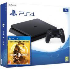 Sony Playstation 4 Slim 1Tb + Mortal Kombat 11 (русская версия)