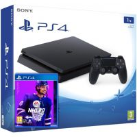 Sony Playstation 4 Slim 1Tb + NHL 20 (русская версия)