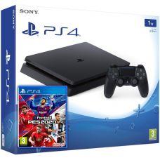 Sony Playstation 4 Slim 1Tb + Pro Evolution Soccer 2020 (eFootball) (русская версия)