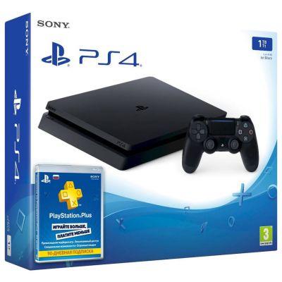 Sony Playstation 4 Slim 1Tb + Подписка PlayStation Plus (3 месяца)