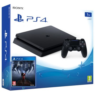 Sony Playstation 4 Slim 1Tb + Prey (русская версия)