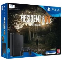 Sony Playstation 4 Slim 1Tb + Resident Evil 7: Biohazard (русская версия)