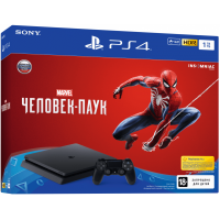 Sony Playstation 4 Slim 1Tb + Spider-Man (русская версия)
