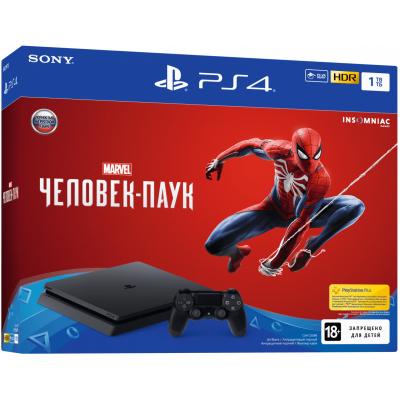 Sony Playstation 4 Slim 1Tb + Spider-Man (русская версия)