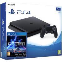 Sony Playstation 4 Slim 1Tb + Star Wars: Battlefront II (русская версия)