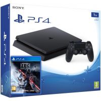 Sony Playstation 4 Slim 1Tb + Star Wars Jedi: Fallen Order (русская версия)