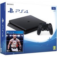 Sony Playstation 4 Slim 1Tb + UFC 3 (русская версия)