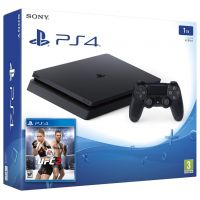 Sony Playstation 4 Slim 1Tb + UFC 2