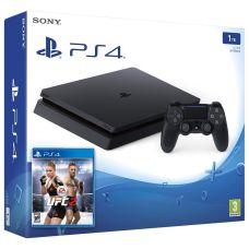 Sony Playstation 4 Slim 1Tb + UFC 2
