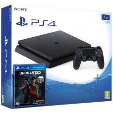 Sony Playstation 4 Slim 1Tb + Uncharted: Утраченное наследие (русская версия)