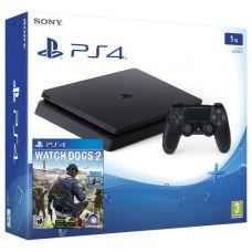 Sony Playstation 4 Slim 1Tb + Watch Dogs 2 (русская версия)