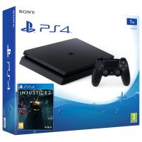 Sony Playstation 4 Slim 1Tb + Injustice 2 (русская версия)