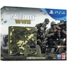 Sony Playstation 4 Slim 1Tb Limited Edition Call of Duty: WWII + Call of Duty: WWII