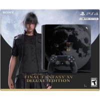 Sony Playstation 4 Slim 1Tb Limited Edition Final Fantasy XV + Final Fantasy XV Deluxe Edition (русская версия)