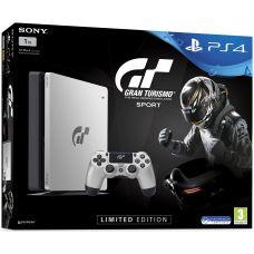 Sony Playstation 4 Slim 1Tb Limited Edition Gran Turismo Sport + Gran Turismo Sport. Day One Edition (русская версия)