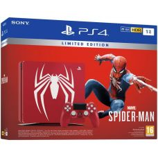 Sony Playstation 4 Slim 1Tb Limited Edition Spider-Man + Spider-Man (русская версия)