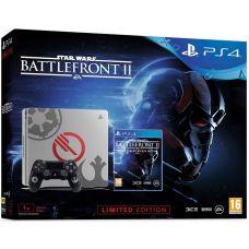 Sony Playstation 4 Slim 1Tb Limited Edition Star Wars: Battlefront II + Star Wars: Battlefront II Elite Trooper Deluxe Edition (русская версия)