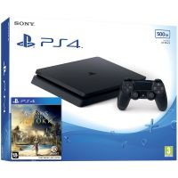 Sony Playstation 4 Slim 500Gb + Assassin's Creed: Origins/Истоки (русская версия)