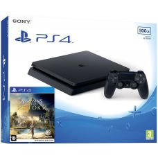 Sony Playstation 4 Slim 500Gb + Assassin's Creed: Origins/Истоки (русская версия)
