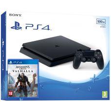 Sony Playstation 4 Slim 500Gb + Assassin's Creed Valhalla\Вальгалла (русская версия)