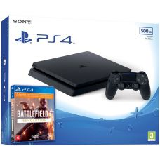 Sony Playstation 4 Slim 500Gb + Battlefield 1. Революция (русская версия)