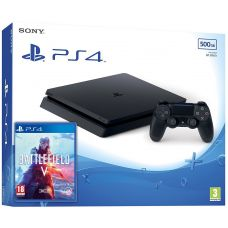 Sony Playstation 4 Slim 500Gb + Battlefield V (русская версия)