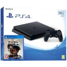 Sony Playstation 4 Slim 500Gb + Call of Duty: Black Ops Cold War (русская версия)