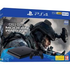 Sony Playstation 4 Slim 500Gb + Call of Duty: Modern Warfare (русская версия)