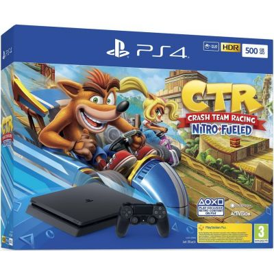 Sony Playstation 4 Slim 500Gb + Crash Team Racing Nitro-Fueled