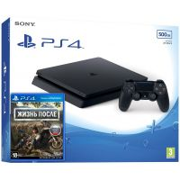 Sony Playstation 4 Slim 500Gb + Days Gone/Жизнь После (русская версия)