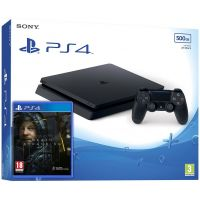 Sony Playstation 4 Slim 500Gb + Death Stranding (русская версия)