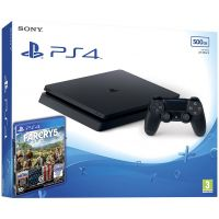 Sony Playstation 4 Slim 500Gb + Far Cry 5 (русская версия)