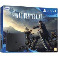 Sony Playstation 4 Slim 500Gb + Final Fantasy XV (русская версия)