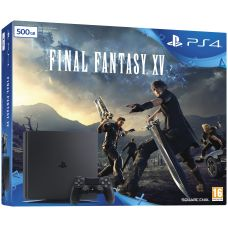 Sony Playstation 4 Slim 500Gb + Final Fantasy XV (русская версия)