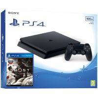 Sony Playstation 4 Slim 500Gb + Ghost of Tsushima (русская версия)