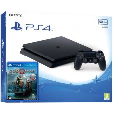 Sony Playstation 4 Slim 500Gb + God of War 4 (русская версия)