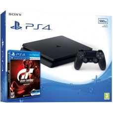 Sony Playstation 4 Slim 500Gb + Gran Turismo Sport (русская версия)
