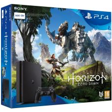 Sony Playstation 4 Slim 500Gb + Horizon Zero Dawn (русская версия)