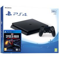 Sony Playstation 4 Slim 500Gb + Marvel's Spider-Man: Miles Morales (русская версия)
