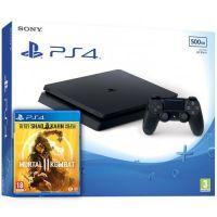 Sony Playstation 4 Slim 500Gb + Mortal Kombat 11 (русская версия)